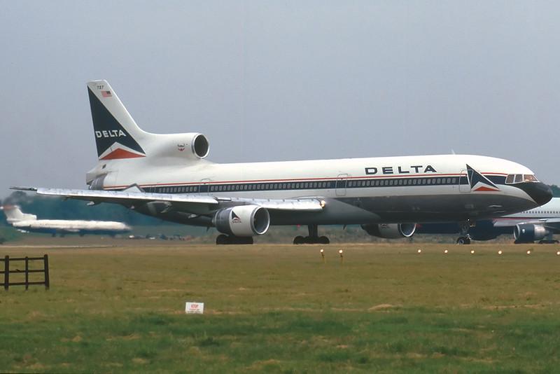 Delta Airlines Lockheed-1011 Tristar London Gatwick