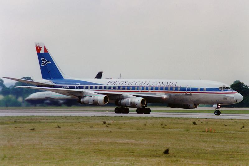 McDonnell Douglas DC8-52 cn 45985/336 C-FNZE Points of Call Canada