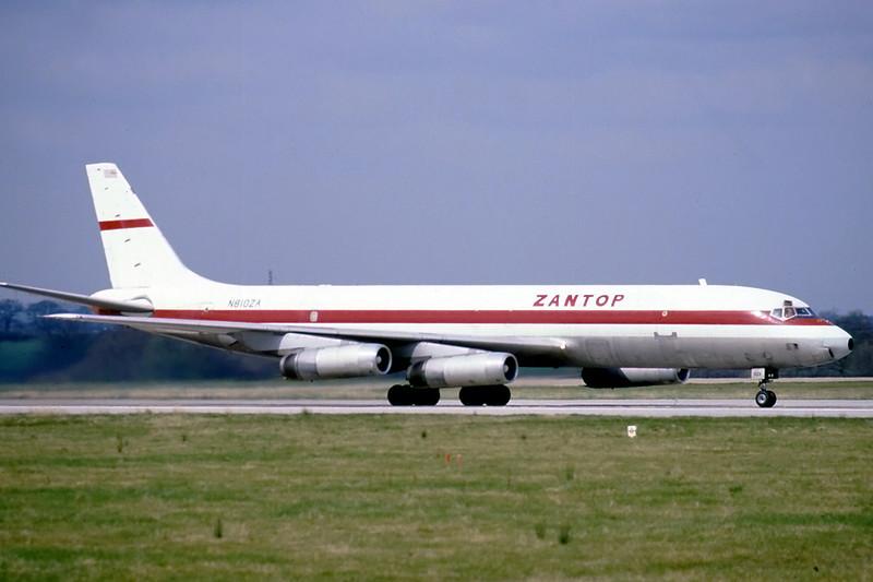 McDonnell Douglas DC-8.-62AF cn 46162 N810ZA London Gatwick