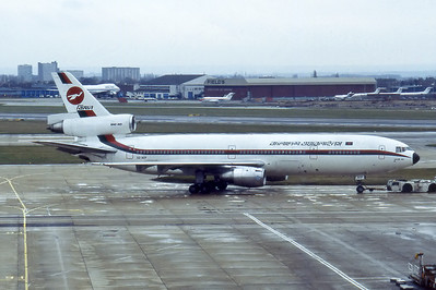 Photographed at Heathrow, 1980's