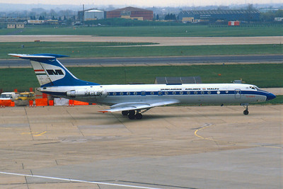 Tupolev TU-134A-3 cn HA-LBN Malev Hungarian Airlines