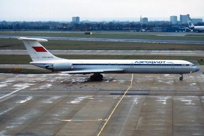 Aeroflot Iluyshin IL-62M CCCP-86520, London Heathrow