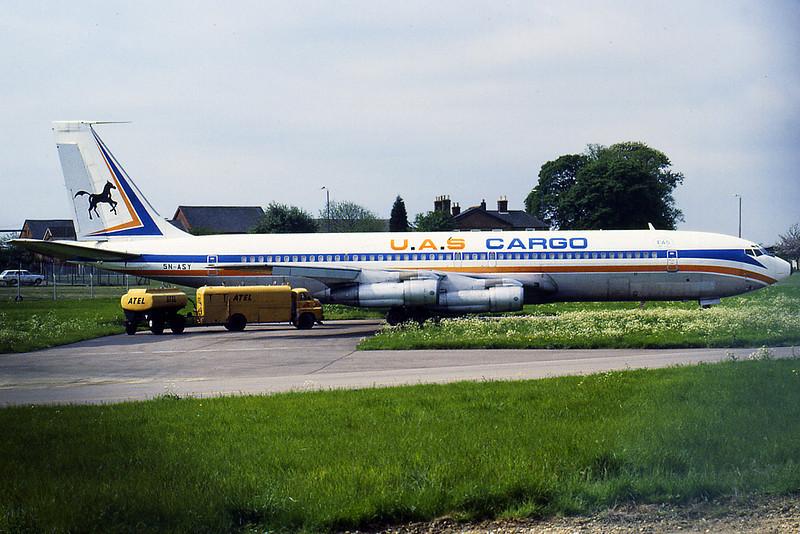 Boeing 707-351C 5N-ASY c/n 18922 - DAS Air Cargo