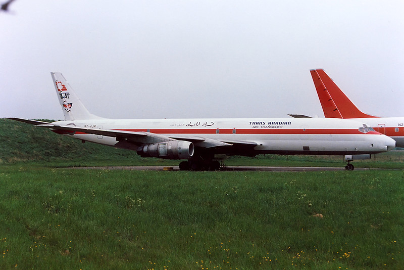 McDonnell-Douglas DC8-54F ST-AJR cn 46009 Trans Arabian Air Cargo