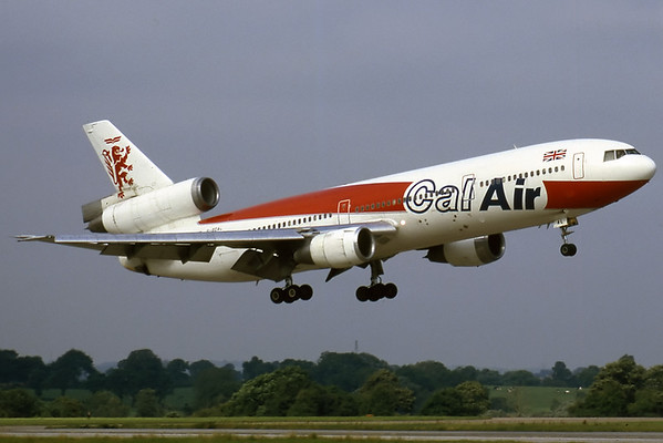Cal-Air DC-10-10 - Manchester Airport