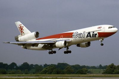 Cal Air DC-10 Manchester Airport