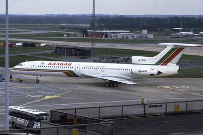 Tupolev TU154-B2, LZ-BTD, Balkan Airlines