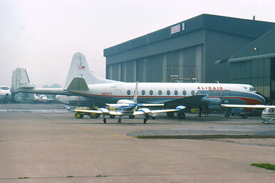 Alidair Vickers Viscount 812 N501TL.