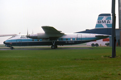 Handley Page Herald HPR-7, Castle Donington Airport