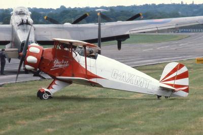 Bucker BU-133C Jungmeister cn 46  G-AXMT