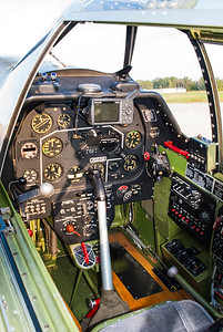 Mustang cockpit.