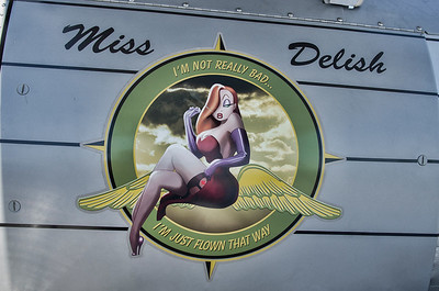 Nose Art on a Stearman