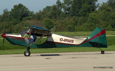 Rans S-7S Courier at Tillsonburg Airport