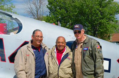 A Trio of Mustang Pilots