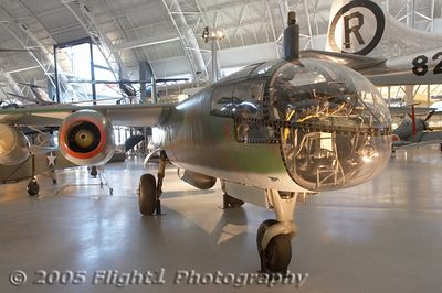 Arado Ar 234B-2 Blitz first flew in 1943 and flew its first mission in August 1944