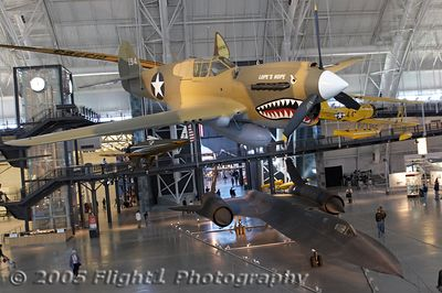 "P-40 Kittyhawk in ""Flying Tigers"" warpaint"