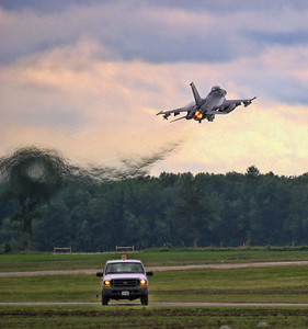 """F-16 Viper from Vermont National Guard """"Green Mountain Boys"""""""
