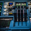 Cockpit views of the A380-861.  Emirates' 50th A380-800 aircraft.  Photo by: Stephen Hindley©