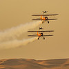 Breitling Wingwalkers at the Al Ain Air Championships  held in UAE on 17-19 December, 2015. Photo by: Stephen Hindley©