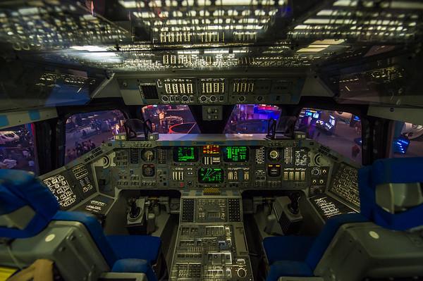 Space Shuttle cockpit