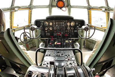 KC-97 cockpit.