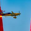 Matt Hall of Australia clips Gate 3 at the Red Bull Air Race season opener in Abu Dhabi, UAE on Saturday 14th February, 2015. Photo by: Stephen Hindley©