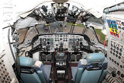 Nimrod R1 cockpit.