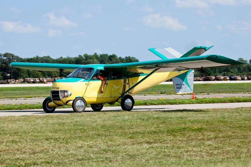 The AeroCar - half Airplane, half car
