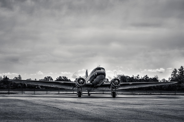 Built in 1939, this Douglas DC-3 Dakota is part of the Canadian Warplane Heritage Museum's collection.