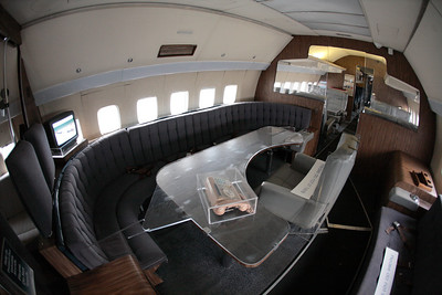Inside the original Air Force One.