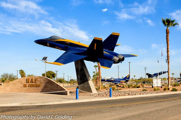 NAF El Centro Aircraft Displays