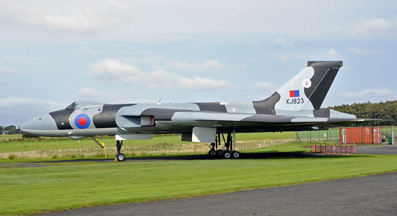 Avro Vulcan B2 XJ823, Solway Aviation Museum, Carlisle airport, Sat 15 September 2012 3.