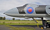 Avro Vulcan B2 XJ823, Solway Aviation Museum, Carlisle airport, Sat 15 September 2012 9.  Access to the ockpit is via the yellow ladder.