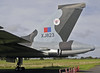 Avro Vulcan B2 XJ823, Solway Aviation Museum, Carlisle airport, Sat 15 September 2012 4.  Dumbo is only on the port side of the fin.