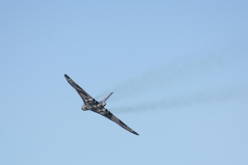 Avro Vulcan XH558 - Douglas Bay, Isle of Man