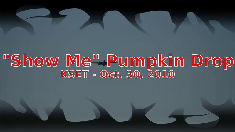 """B-25 """"Show Me"""" pumpkin drop"""