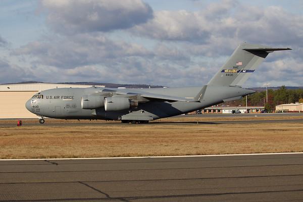 """Barnes Airport """"Oregon"""" F-15 departure 11/18/10"""