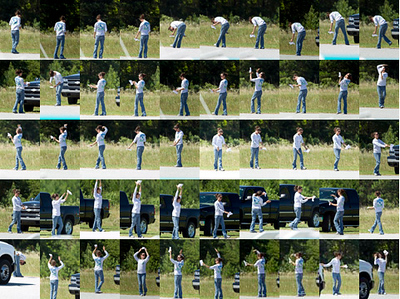 Choreography of Aerobatic Flight