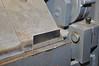 Bending a gusset on the sheet metal brake