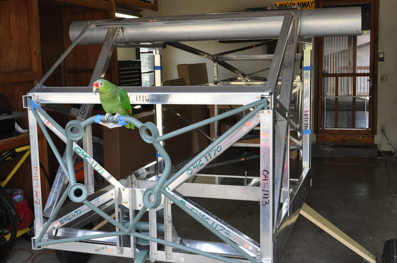 Parrot power prepped. Ready for take-off!