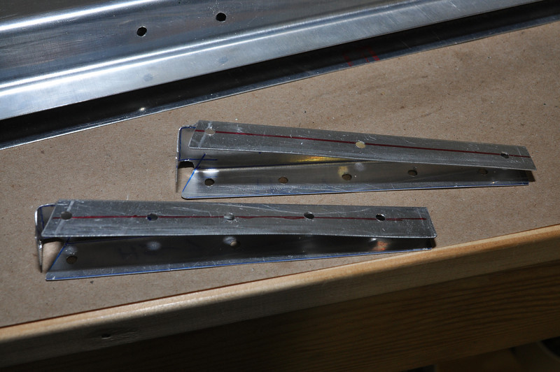 Rebuilt HS-7 ribs with the holes in the correct places.