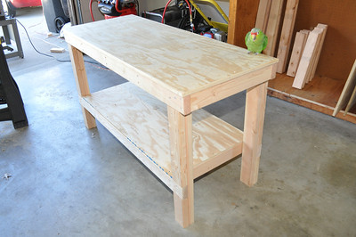 4 x 8 workbench plans