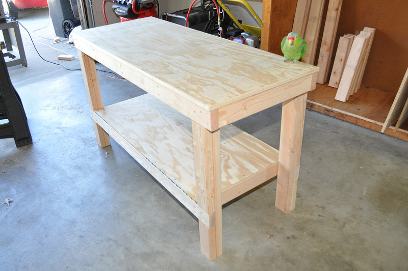 My first of two workbenches.