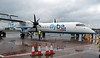 Flybe De Havilland Canada DHC-8-400 G-ECOO, George Best Belfast City Airport, 17 May 2012 - 1452.  Boarding for Manchester.