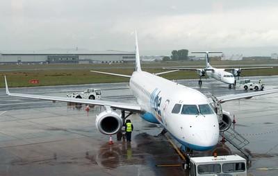 Belfast City airport, 2012