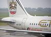 Etihad Airways Airbus A319 A6-EID, Nikola Tesla airport, Belgrade, Tues 17 June 2014 2.  A closer look at the Abu Dhabi Grand Prix branding.
