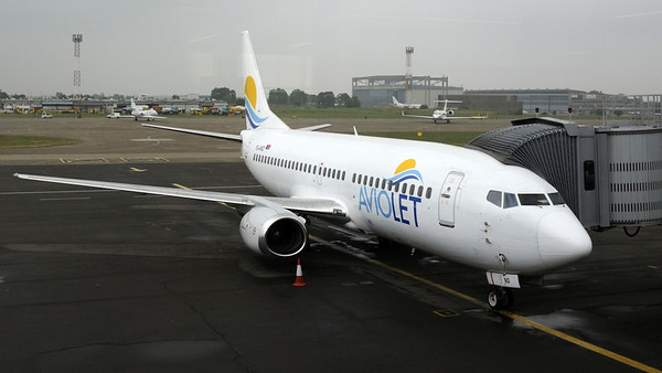Aviojet Boeing 737-300 YU-AND, Nikola Tesla airport, Belgrade, Tues 17 June 2014