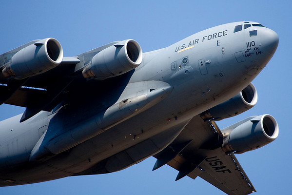 C-17 low pass.