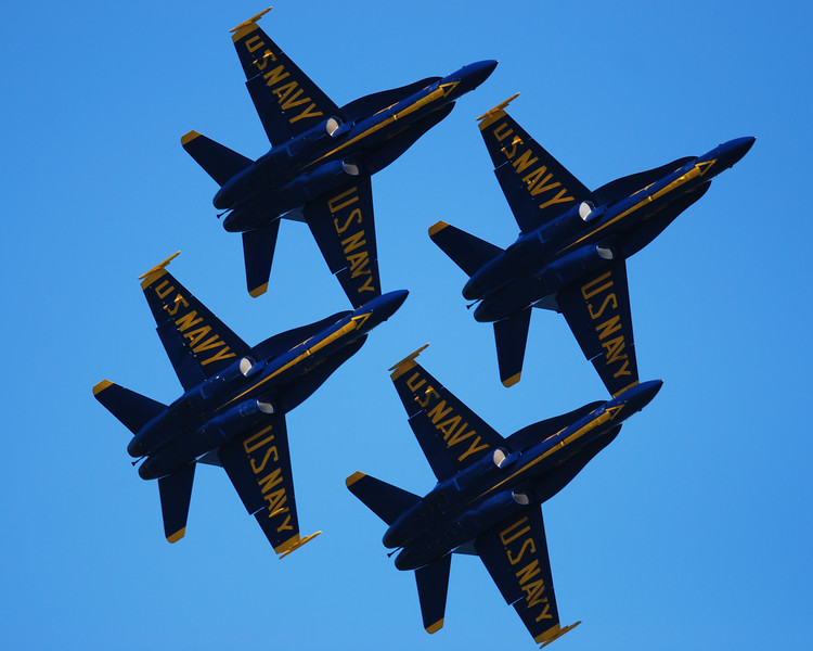Blue Angels - Fleet Week 2010