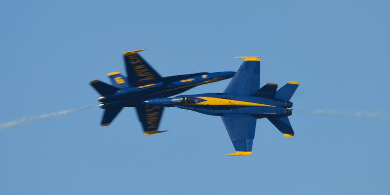 Blue Angels at SF Fleet Week